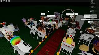 Sadder's Roblox wedding (gone wrong)