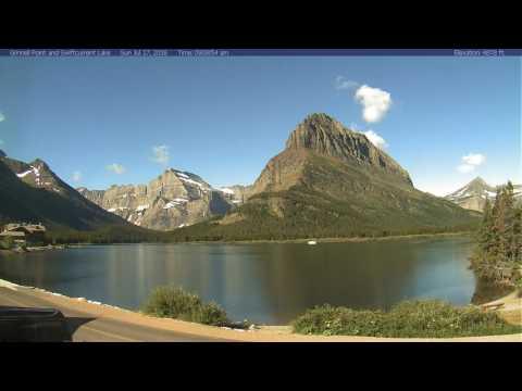 Glacier National Park, Many Glacier, July 2016 Time Lapse