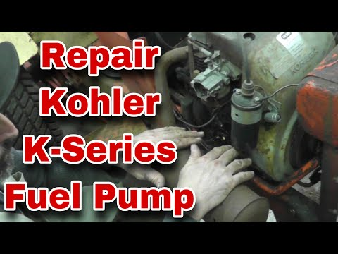 How-To Repair Kohler K Series Fuel Pump - with Taryl