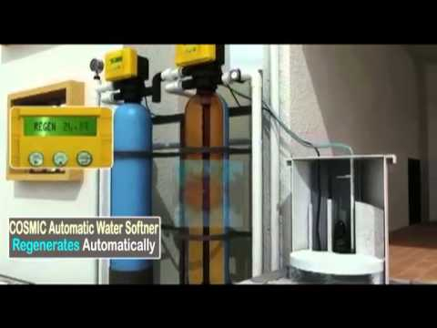 Cosmic AUTOMATIC WATER SOFTENER PRESENTATION ( In English)
