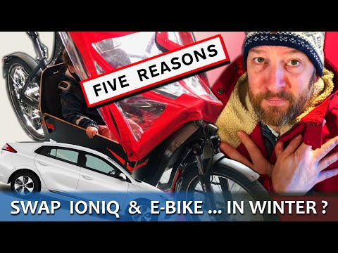 5 Reasons I Swapped IONIQ Electric EV For Cargo Family E-Bike!