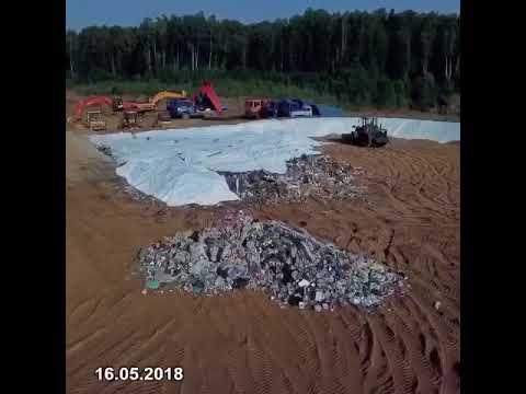 На свалку в Щелканово-Сычёво завозят новый мусор