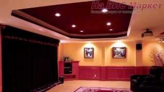 Натяжные потолки в зале квартиры: фото, Кривой Рог(, 2014-10-20T13:44:57.000Z)