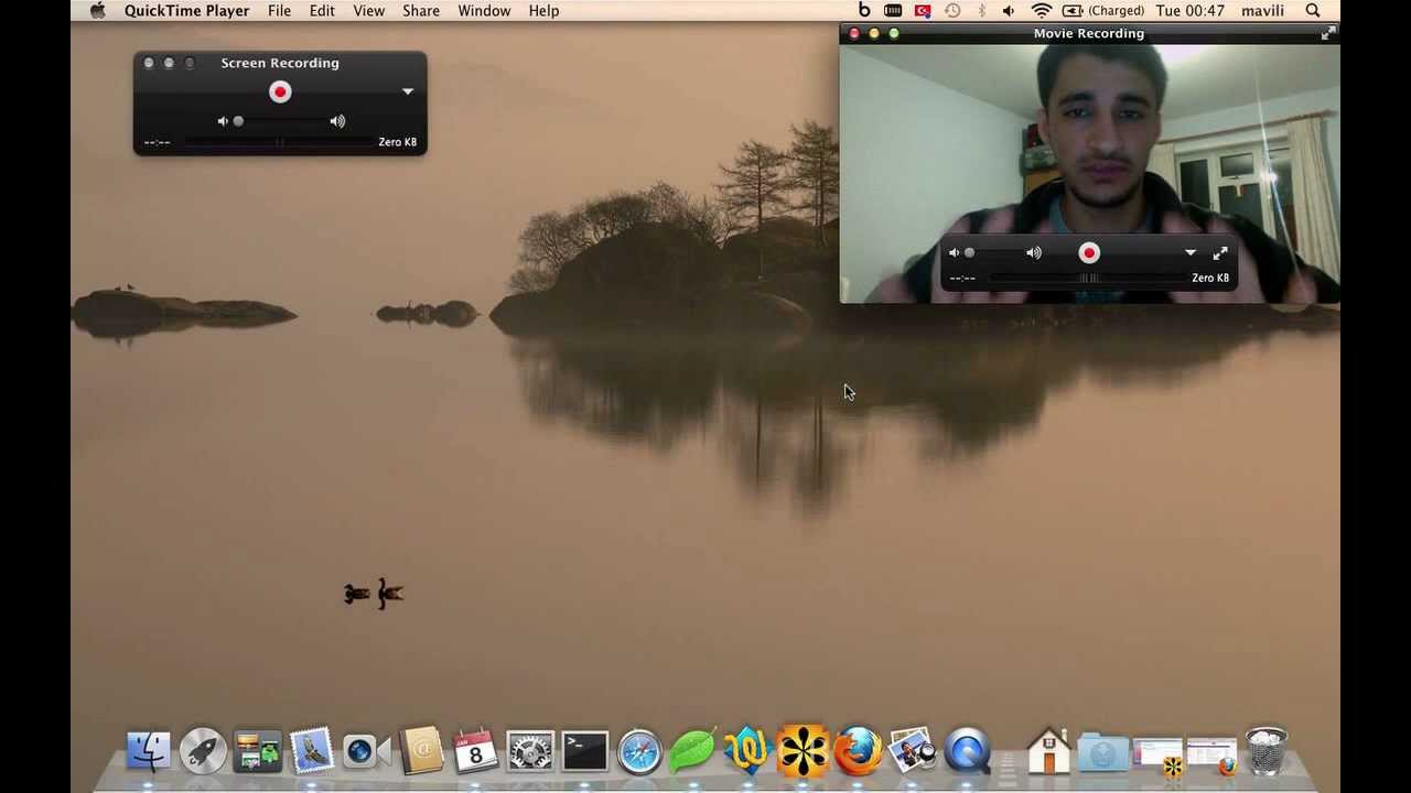 Screen and webcam recording on mac os x youtube ccuart Gallery