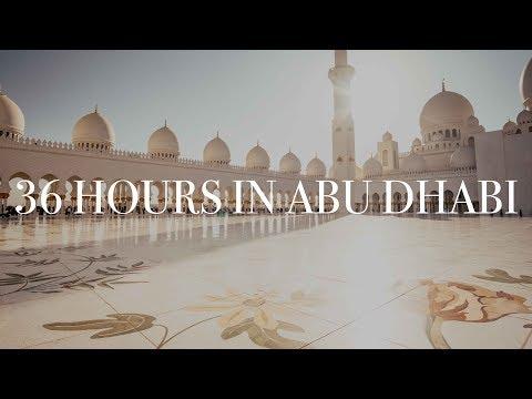 36 Hours in Abu Dhabi