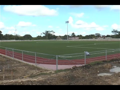 The First Ever Artificial Pitch in Belize
