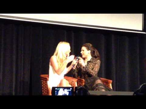 Lana Parrilla and Victoria Smurfit on Spin Off of Queens of Darkness  Fairy Tales 3