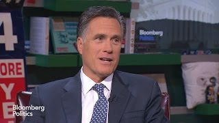 Mitt Romney: Donald Trump Should Not Be the GOP Nominee