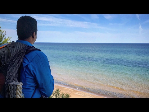 Hiking the Pictured Rocks National Lakeshore: Hammock Camping Grand Sable to Munising