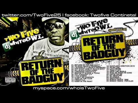Two Five & DJ Whiteowl : Return Of The BadGuy Mixtape [ FULL MIXTAPE DOWNLOAD ]