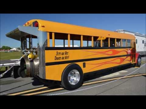 Indy Boys and the 300 MPH Jet School Bus