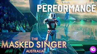 The Robot Performs: Hold Back the River | Season 1 Ep 1 | The Masked Singer Australia