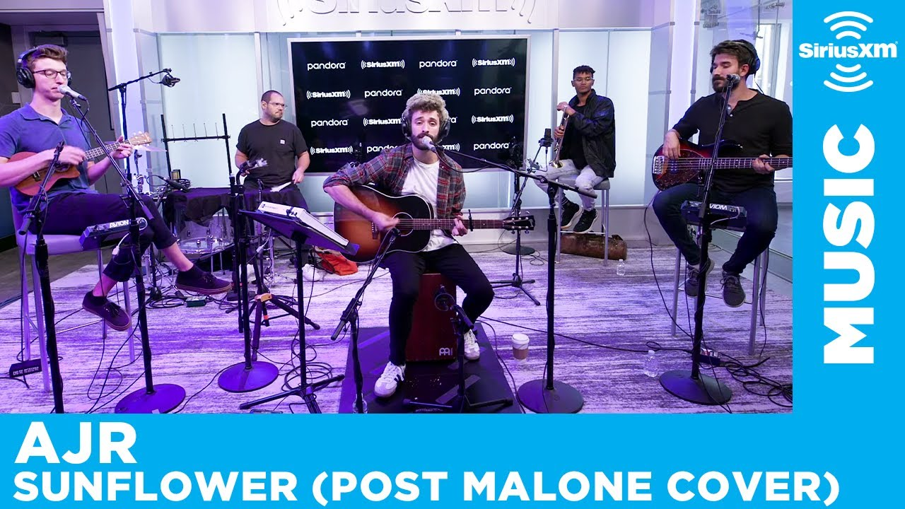 AJR - Sunflower (Post Malone Cover) [LIVE @ SiriusXM]