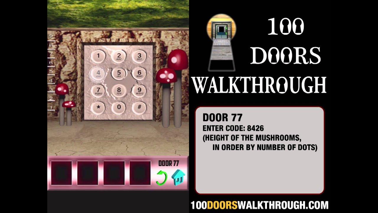 100 Doors X - Level 77 Walkthrough iPhone | 100 Doors X 77 | 100 Doors Walkthrough Cheats - YouTube