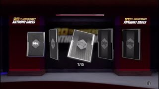 20th Anniversary Anthony Davis Pack Opening!!! Last Chance for the MVP!!! Day 4 and 5