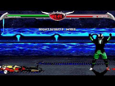 Mortal Kombat Chaotic - Nightspirits playthrough