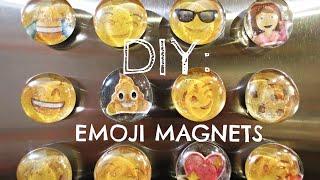 DIY: EMOJI MAGNETS (3D) + GIVEAWAY!!