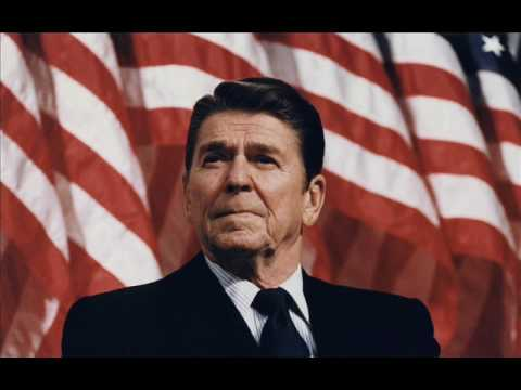 Ronald Reagan - Tear Down This Wall Speech - Part Three - YouTube