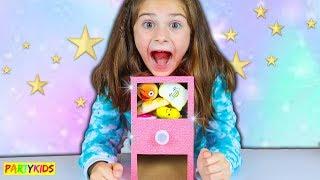 My Amazing MINI SQUISHY VENDING MACHINE from my magic wand wish!