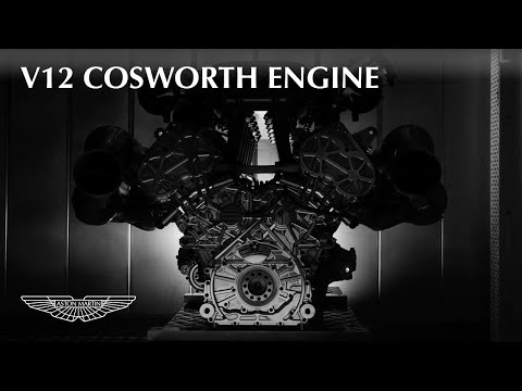 Aston Martin Valkyrie – V12 Cosworth engine