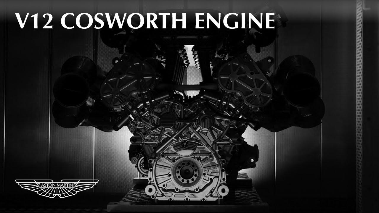 Aston Martin Valkyrie V12 Cosworth Engine Youtube