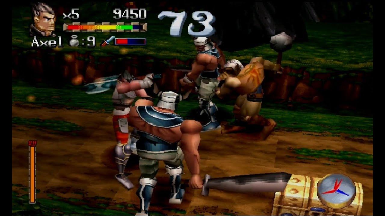 juegos beat em up ps1