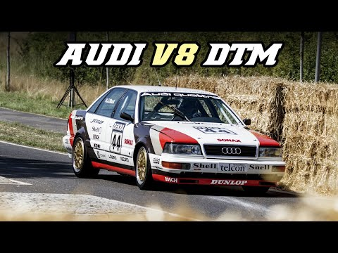 Audi 200 V8 DTM induction sound (Schloss Dyck 2015)