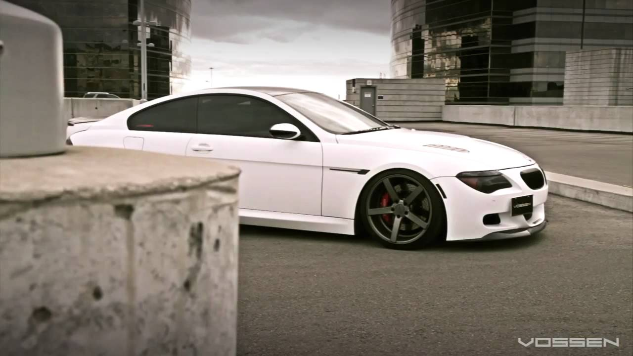 BMW On Vossen VVS CV Concave Wheels Rims YouTube - Bmw 645ci wheels