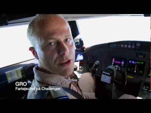 På Flypatrulje Langs Kysten Af Somalia