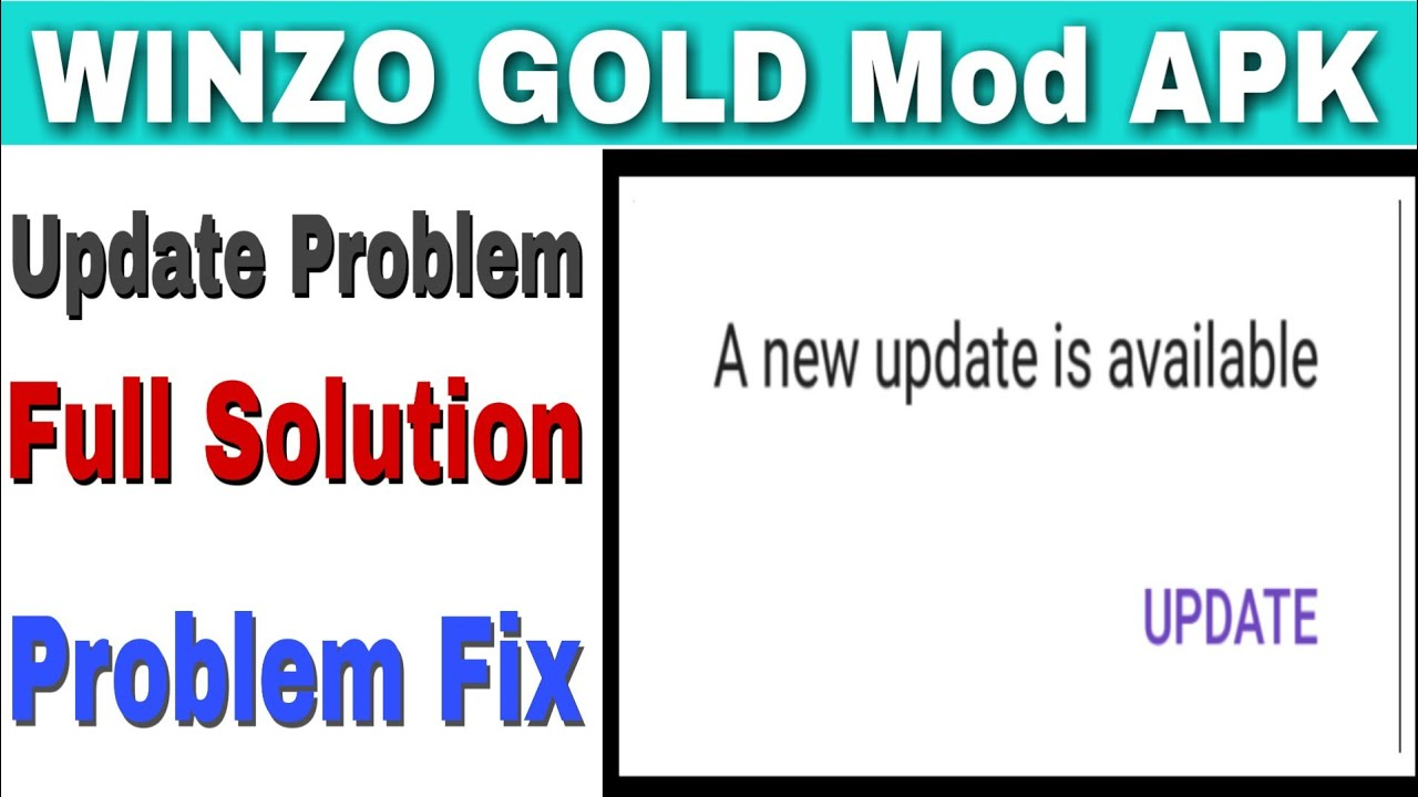 WINZO GOLD Mod APK Update Problem Solve || Otp Problem Solve || Earn Unlimited Paytm Cash