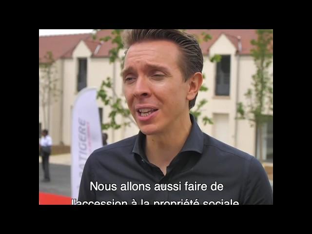 ALILA - Inauguration de OPUZ VERDE à Bonnières 1/2 - Hervé LEGROS – Président Directeur Général