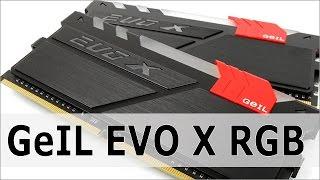GeIL EVO X DDR4 RAM - RGB Lightning Modes