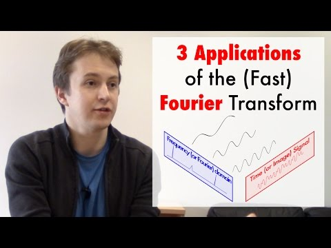3 Applications of the (Fast) Fourier Transform (ft. Michael Kapralov)