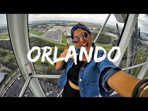 ORLANDO TRAVEL VLOG 2017  | StyleMeUpWithSakshi