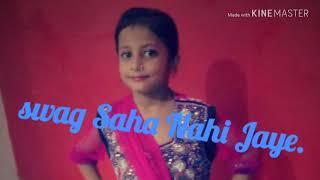 Swag Saha Nahi Jaye | Happy Phirr Bhag Jayegi | Sonakshi Sinha | little girl Dance performance..
