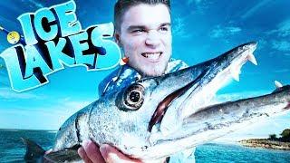 BARRACUDA - ZŁOWIŁEM NAJWIĘKSZĄ RYBĘ W HISTORII! | Ice Lakes [#28] (With: Plaga)