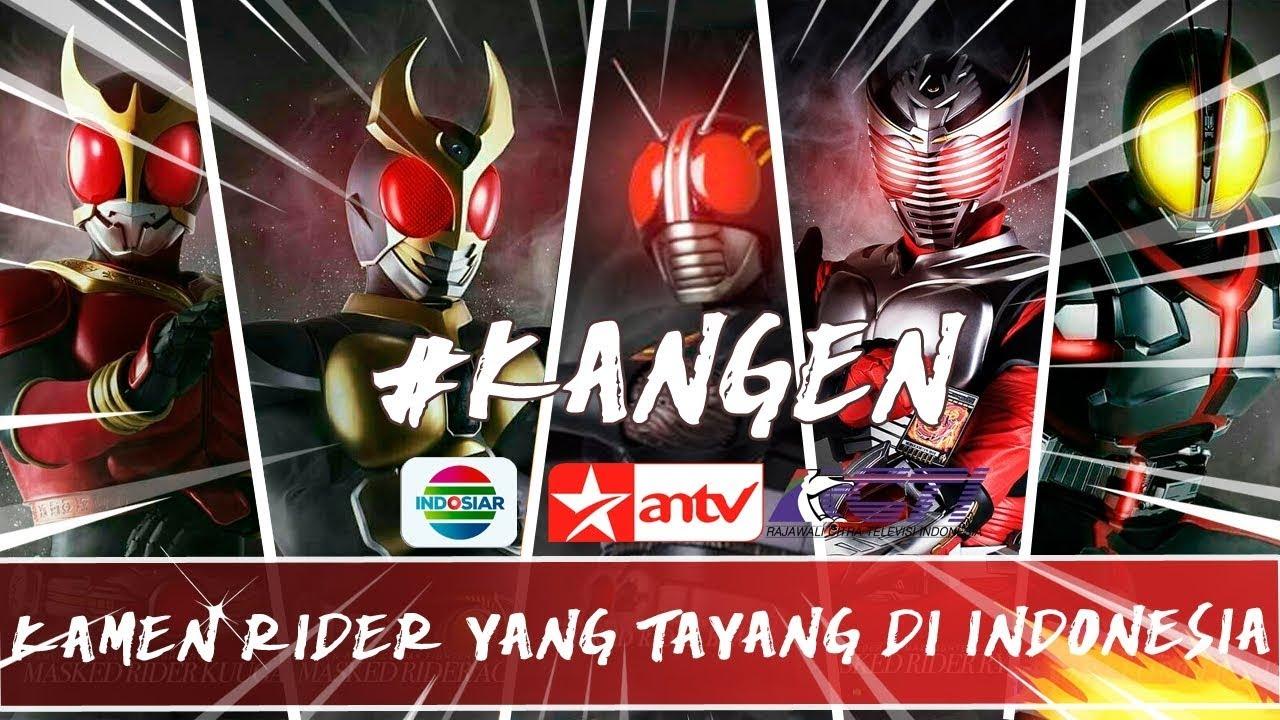 Download KAMEN RIDER YANG PERNAH TAYANG DI INDONESIA !! #NostalToku