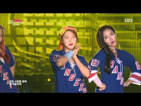 [SBS] 151004 Dream Concert 다이아 (DIA) - Somehow (왠지) @ 2015 경주 한류 드림콘서트 150920