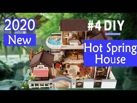 04.DIY Miniature House | Hot spring House (온천하우스 고택) | 미니어처 | 미니어처하우스