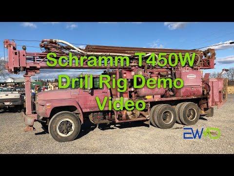 Schramm T450W Drill Rig Demo Video