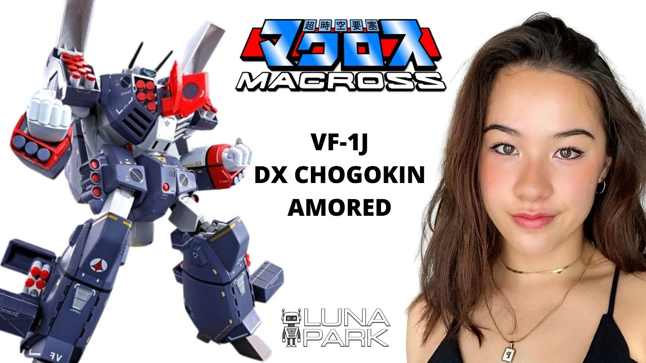 Bandai DX Chogokin Macross VF-1J Armored Valkyrie unboxing review