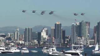 Air Show San Diego from Shelter Island 2.12.2011