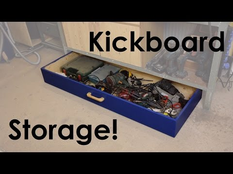 Building a Workbench Drawer | Don't watch till the End! :(