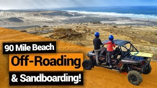 Video blog - Off-Roading and Sandboarding in Ahipara - Day 357