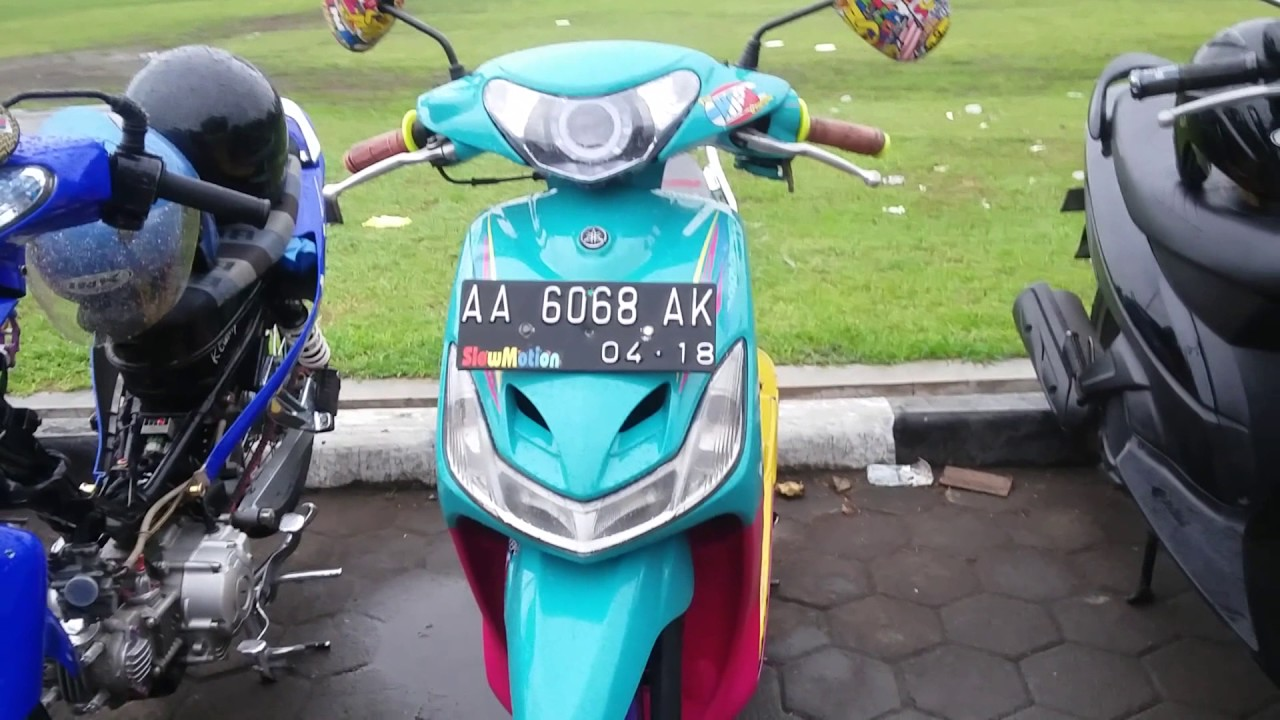 Modifikasi Mio Sporty Thailand / Thailook Style