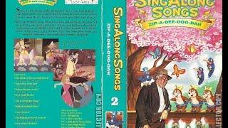 Video Opening to Disney's Sing Along Songs Zip A Dee Doo Dah 1990 VHS (Version #1) download MP3, 3GP, MP4, WEBM, AVI, FLV November 2018
