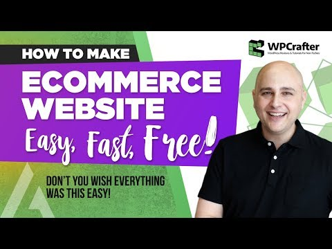How to Make An Ecommerce Website With WordPress Using WooCommerce & Astra (EASY – FAST – FREE)