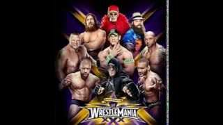 WWE Wrestlemania XXX Official Poster And Theme Song