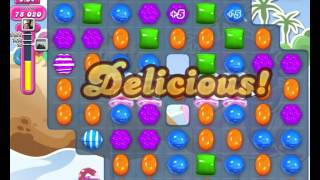 Candy Crush Saga LEVEL 1632 NO BOOSTERS (higher target score)