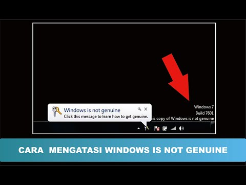 This Copy of Windows is Not Genuine message seems on your Windows seven build 7600 or 7601 pc desktop? cannot....